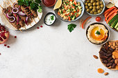 istock Arabic and Middle Eastern food 1200458207