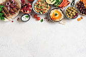 istock Arabic and Middle Eastern food 1200458738