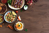 istock Arabic and Middle Eastern food 1200458745