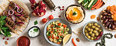 istock Arabic and Middle Eastern food 1200458757