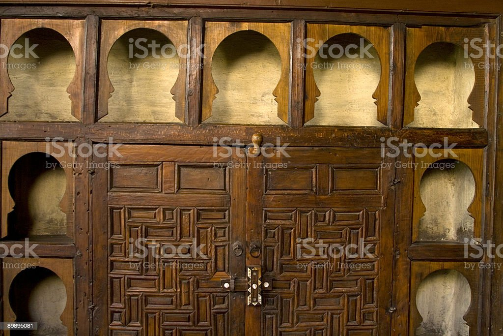 Arabic Architecture - Egypt royalty-free stock photo
