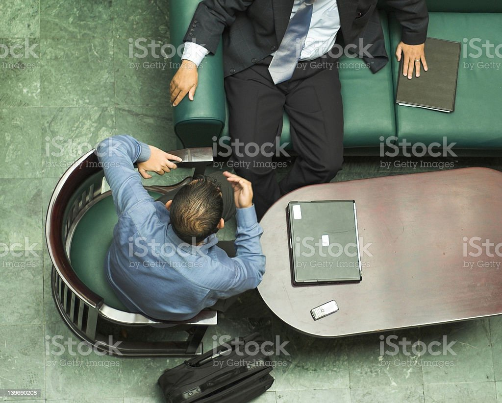 Arabic businessmen royalty-free stock photo