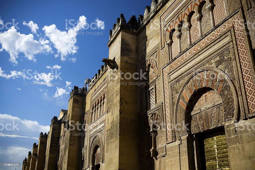 Arabic Castle royalty-free stock photo
