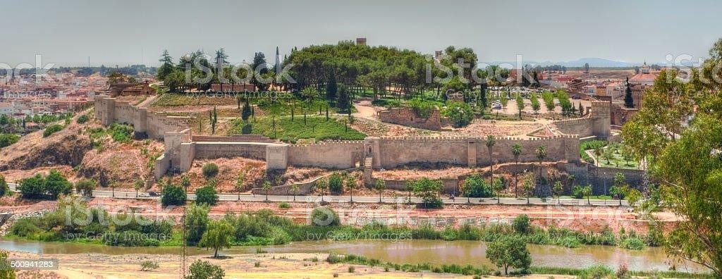 Arabic citadel, from San Cristobal Fort stock photo