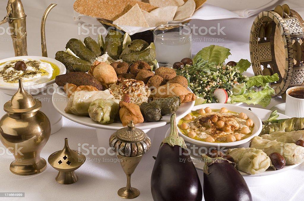 Arabic Dish royalty-free stock photo