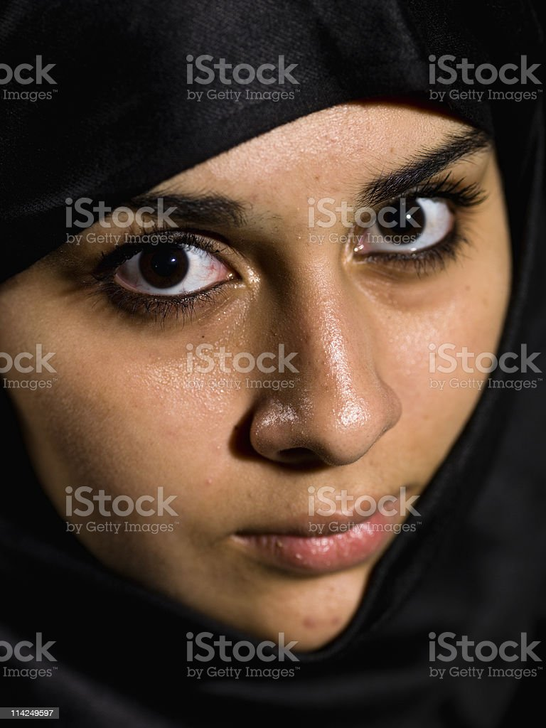 Arabic Eyes stock photo