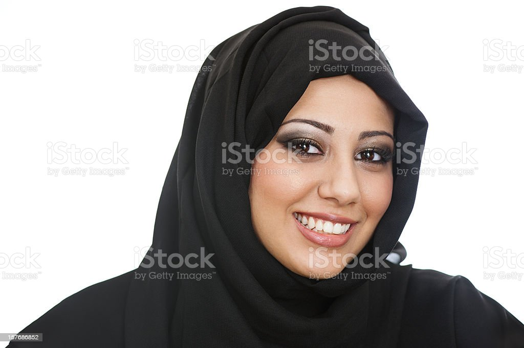 Arabic girl stock photo