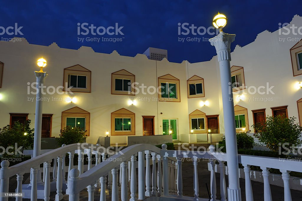 Arabic hotel detail royalty-free stock photo