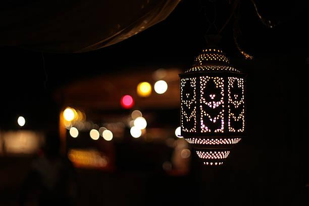Árabe luminária - foto de acervo