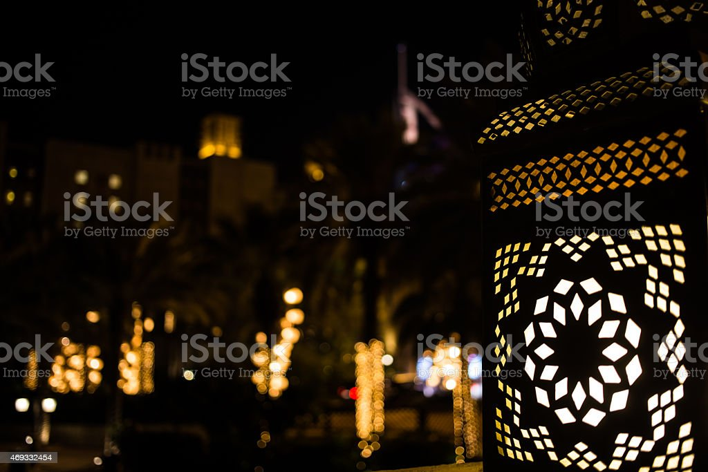 Arabic Lantern stock photo