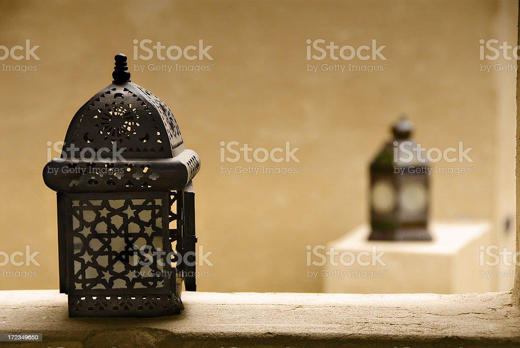 Linternas árabe foto de stock libre de derechos