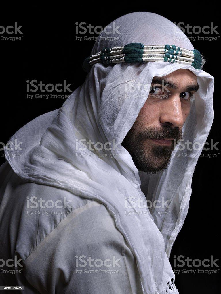 Arabic  man stock photo