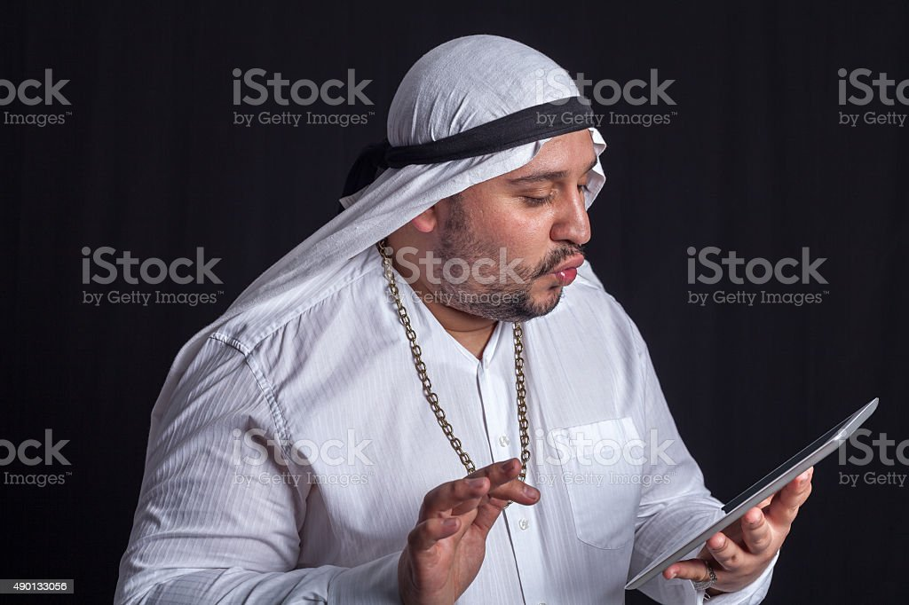 Arabic Man stock photo