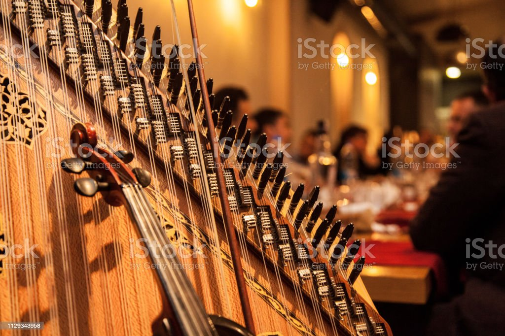 Arabic Music Instruments Stock Photo - Download Image Now