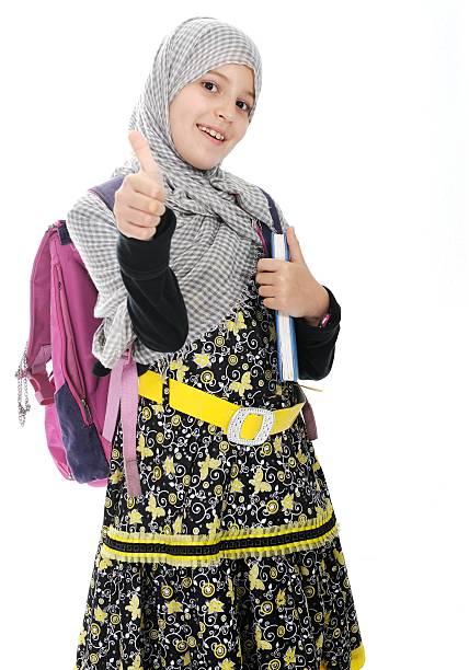 Arabe musulman filles portant des vêtements islamique - Photo