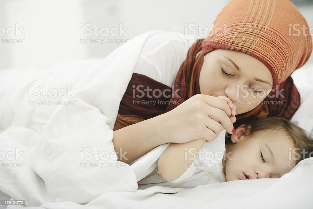 Arabic Muslim Mother Playing And Taking Care Of Her Baby Stock Photo Download Image Now Istock