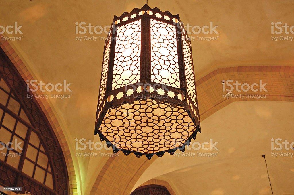 Arabic Old Light royalty-free stock photo