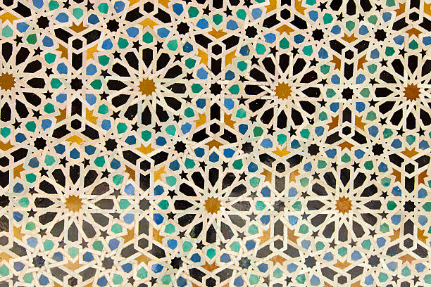 Arabic painted tiles texture Arabic painted tiles texture arabic style stock pictures, royalty-free photos & images