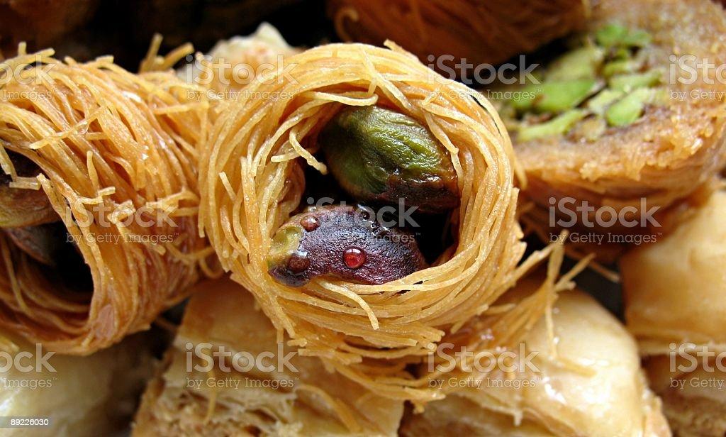 Arabic Pastries royalty-free stock photo