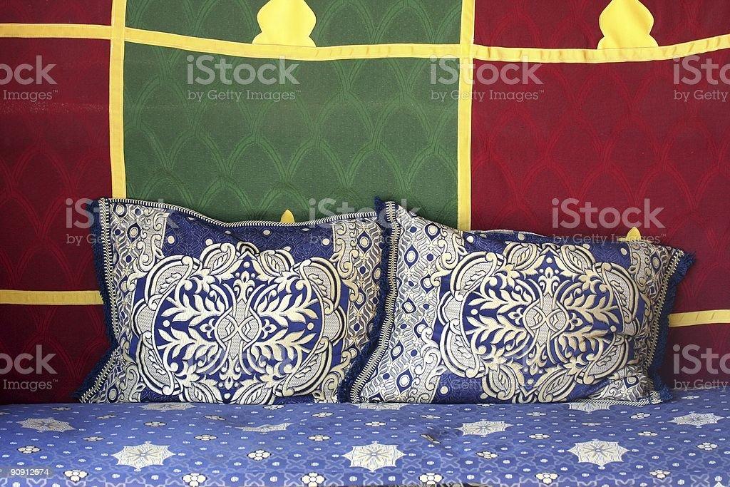 Arabic sofa royalty-free stock photo