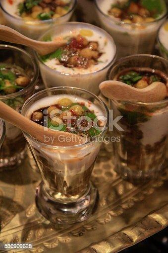 Arabic Starters in small glasses