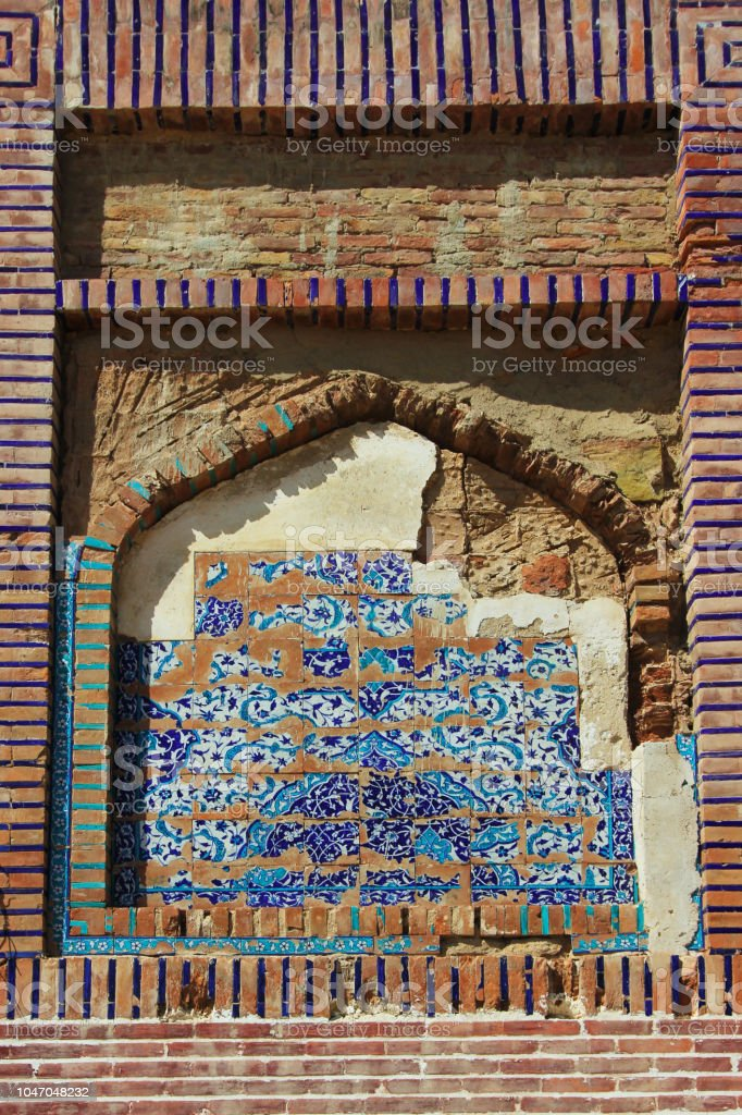 Arabic style Architecture Abstract stock photo