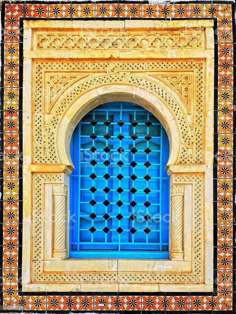 Arabic style house window royalty-free stock photo