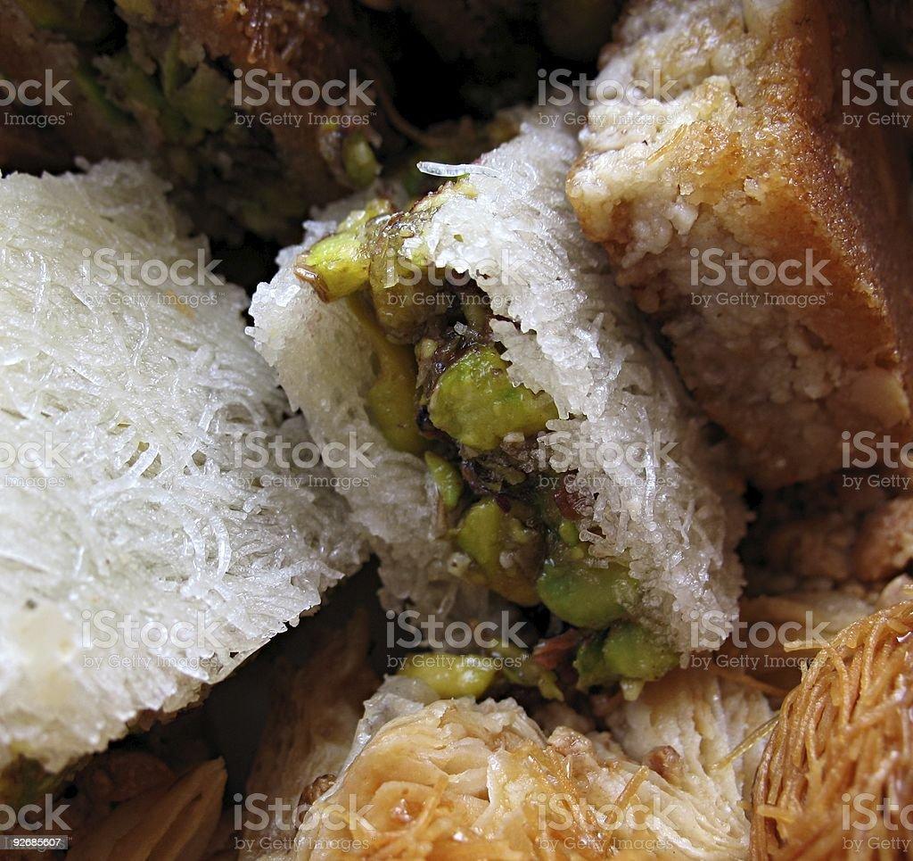 Arabic Sweets 1 royalty-free stock photo