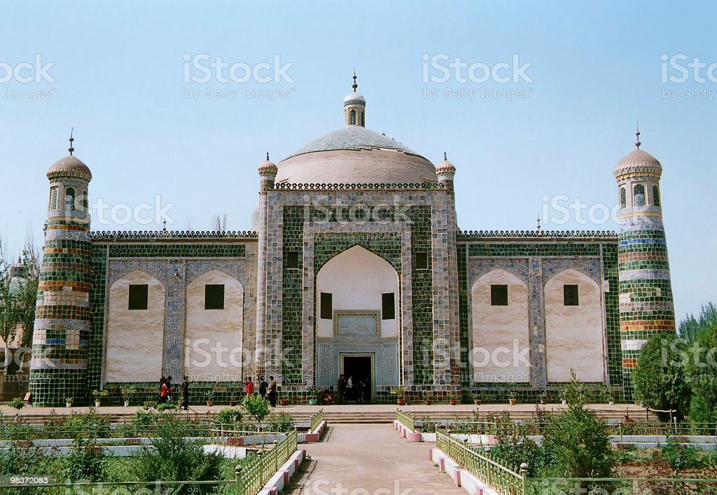 arabic tomb royalty-free stock photo