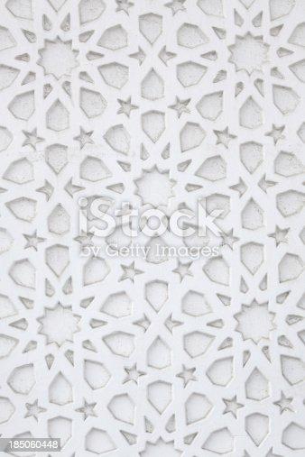 istock Arabic wall pattern 185060448