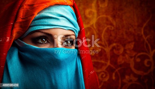 istock Arabic woman 488598439