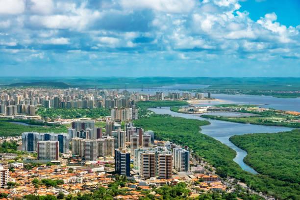 Aracaju, capital of the State of Sergipe stock photo