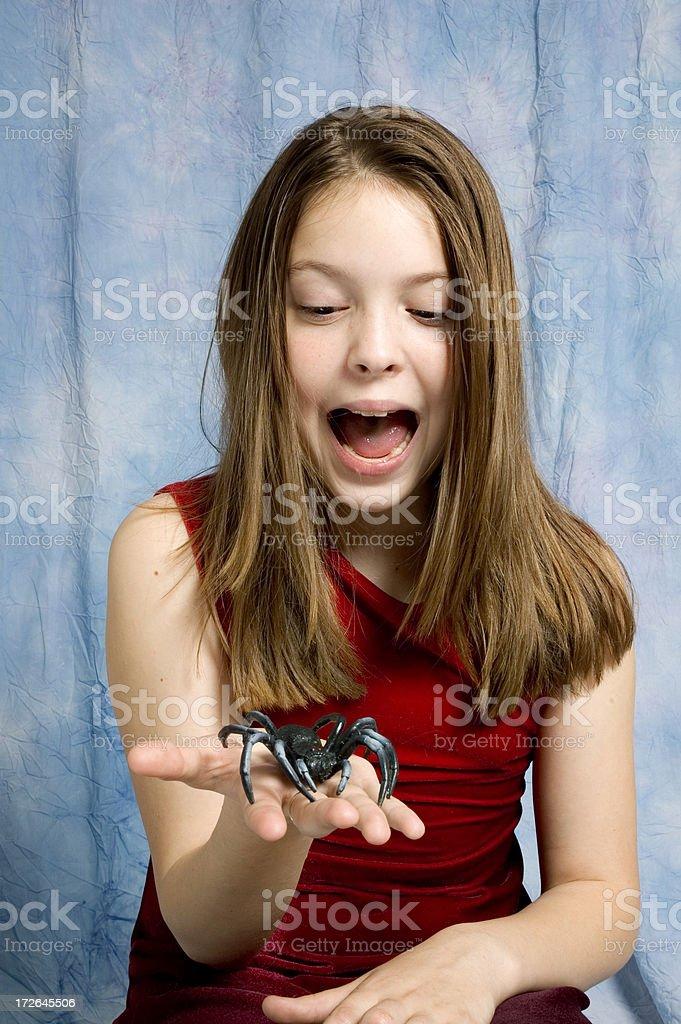 Arachnophobia - 1 stock photo