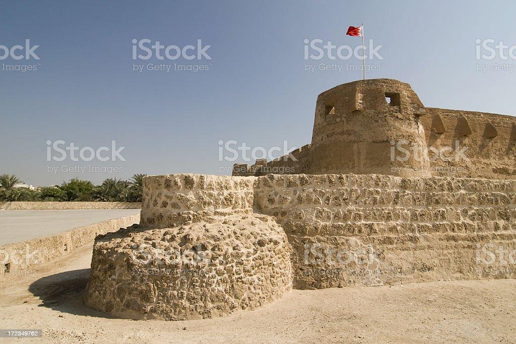 Arad Fort Bahréin foto de stock libre de derechos
