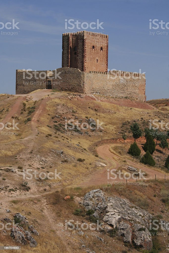 Aragon tower stock photo