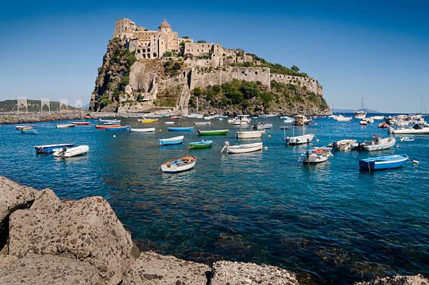 Château Aragonese à Ischia - Photo