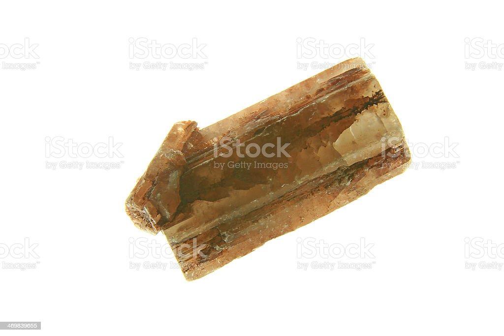 Aragonite crystal royalty-free stock photo
