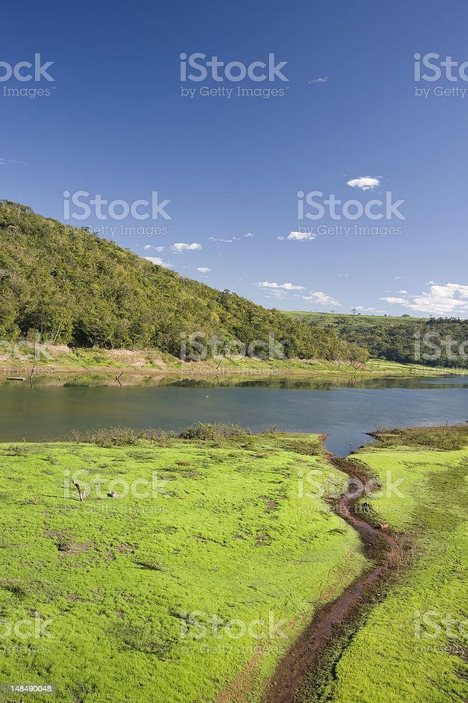 Araguari River royalty-free stock photo