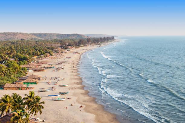Arambol beach, Goa Beauty Arambol beach landscape, Goa state, India goa stock pictures, royalty-free photos & images