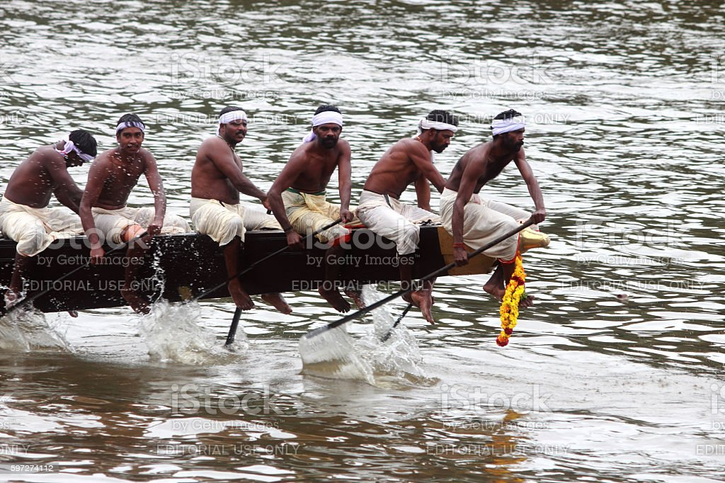Aranmula boat race photo libre de droits