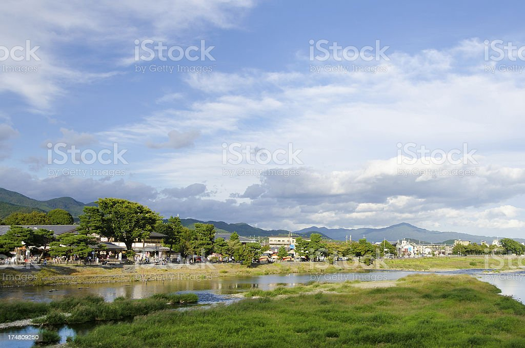 Arashiyama, Kyoto, Japan royalty-free stock photo
