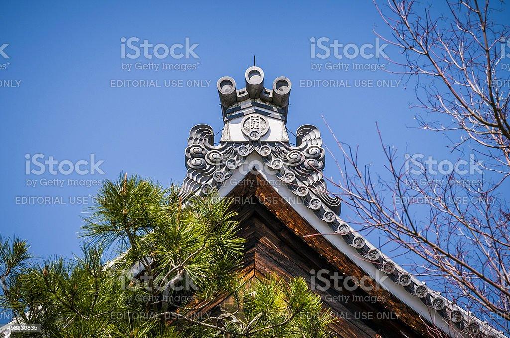 Arashiyama temple royalty-free stock photo