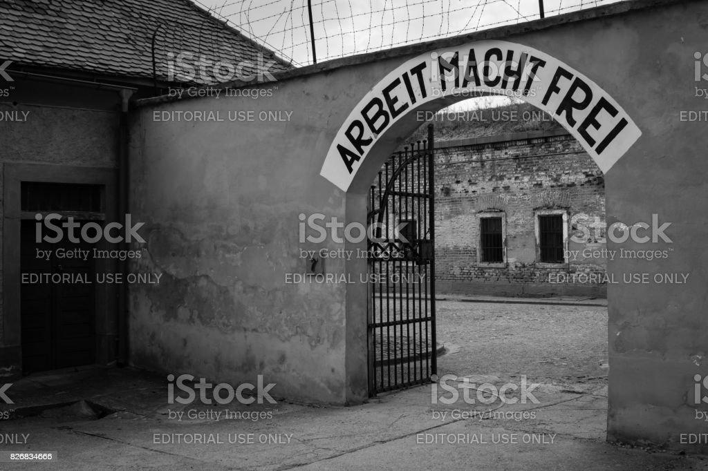 Arbeit Macht Frei - Nazi Motto – Foto