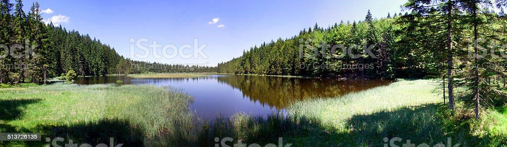Arbersee Idylle stock photo
