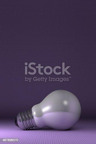 637166104 istock photo Arbitrary light bulb lying 467898370