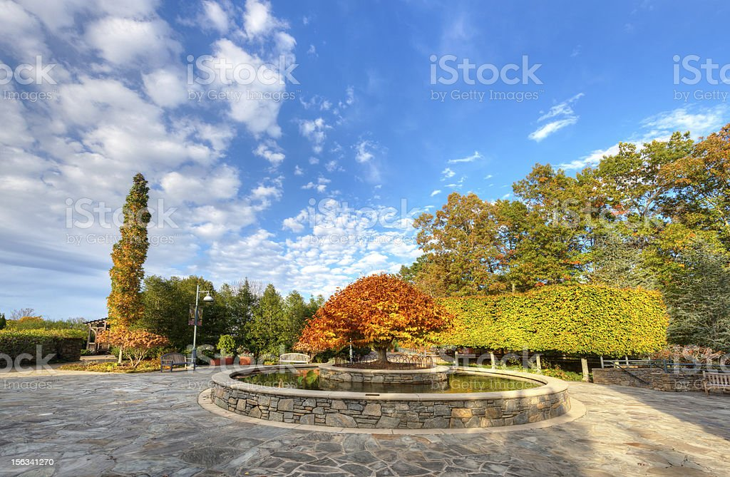 Arboretum stock photo