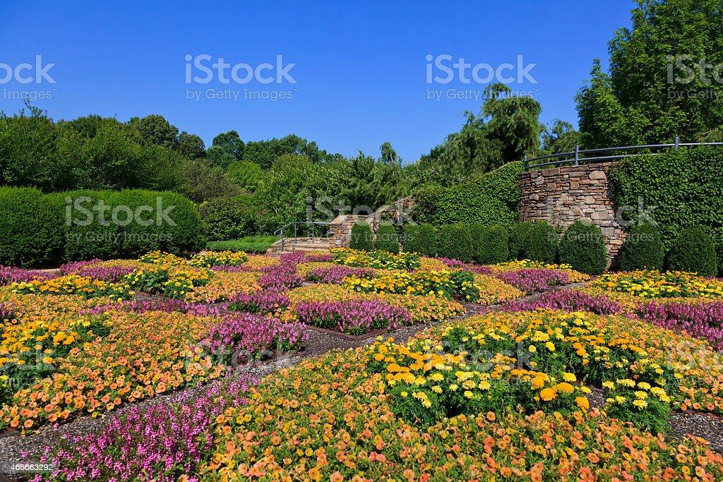NC Arboretum stock photo