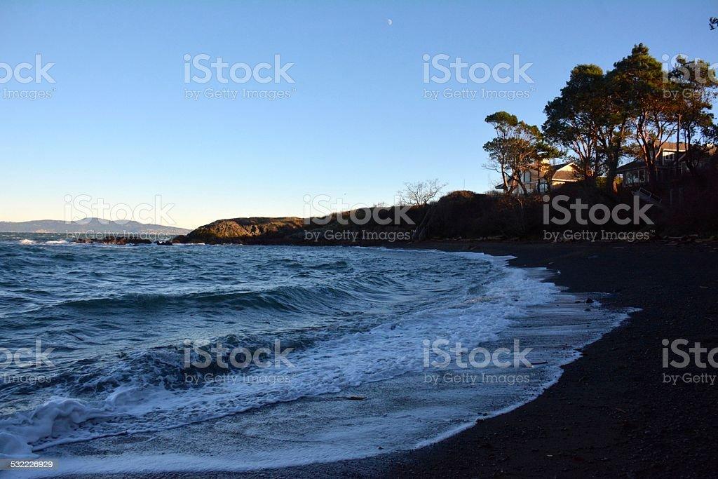 Arbutus Cove, BC stock photo