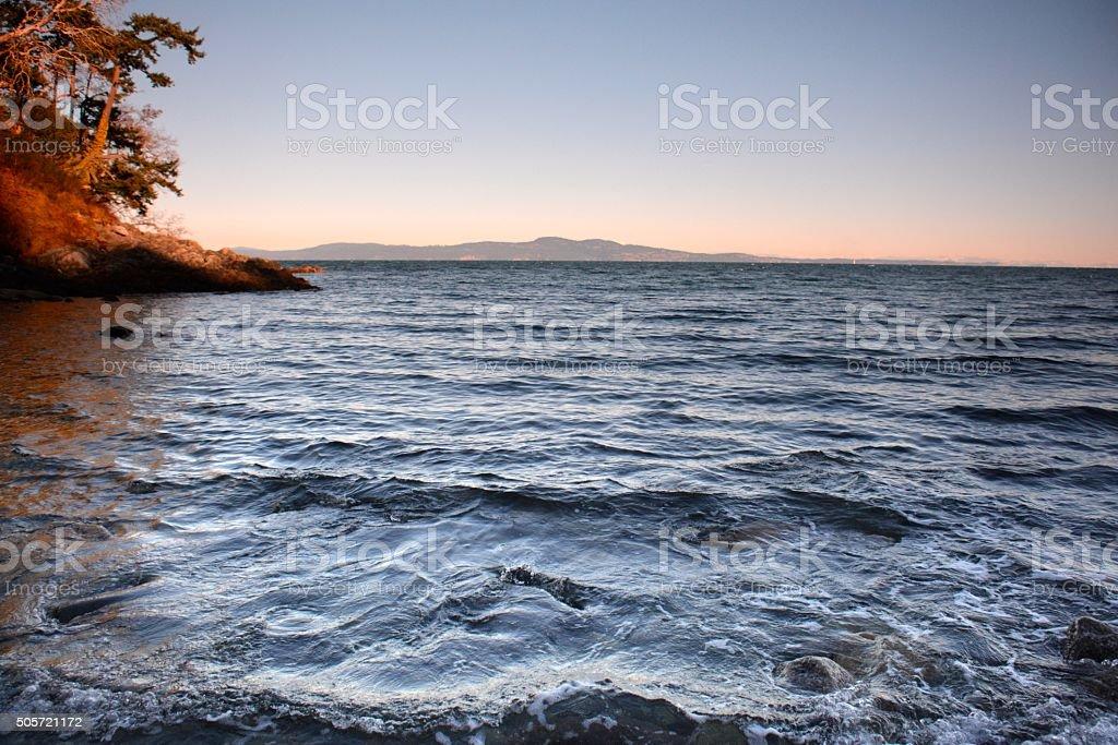 Arbutus Cove stock photo