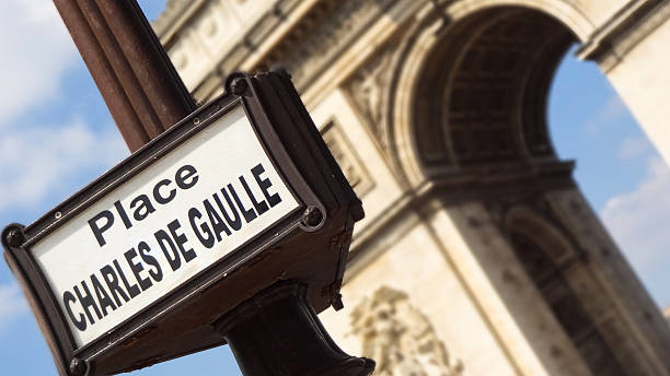 Arc de Thriomphe in Paris, Frankreich – Foto